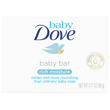 Dove Rich Moisture Baby Bar