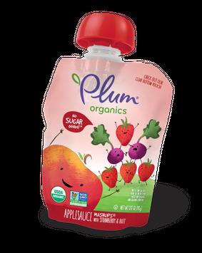 Plum Organics Mashups® Strawberry & Beet