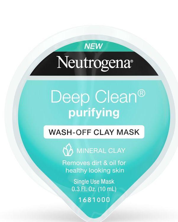 Neutrogena® Deep Clean Purifying Wash-Off Clay Mask