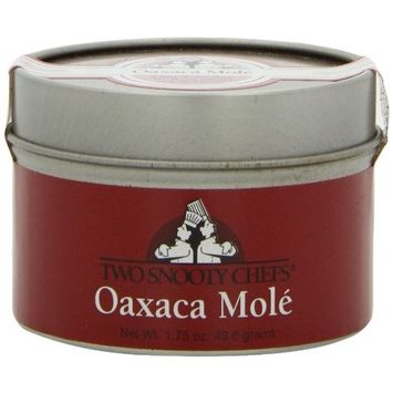 Two Snooty Chefs Oaxaca Mole Gourmet Spice Blend, 1.75-Ounce Container (Pack of 3)