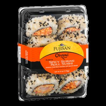 Fujisan Okami Spicy Surimi Roll Sushi - 6 Piece