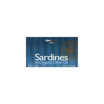 Vital Choice Sardines in Ev Olive Oil 4.375 oz Can
