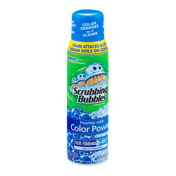 Scrubbing Bubbles Bathroom Cleaner with Color Power