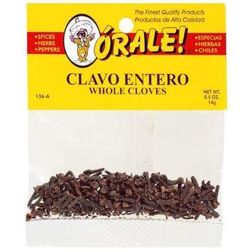 Orale Whole Cloves, .5 oz