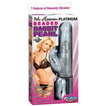 Pipedream Products, . Pipedreams 7th Heaven Platinum Beaded Rabbit Vibrator
