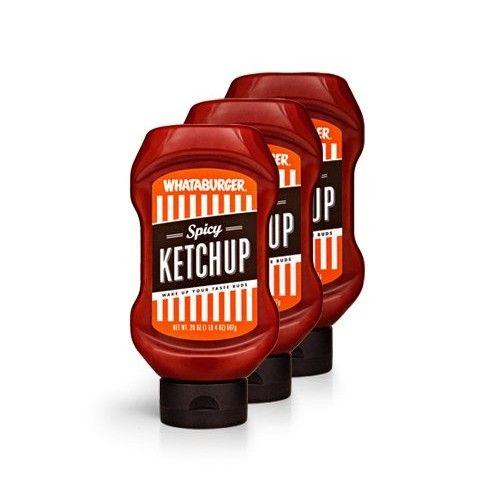 Whataburger Spicy Ketchup - (3 pack/20oz)