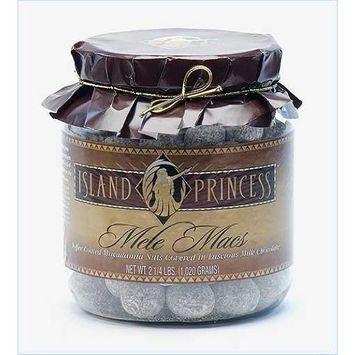 Island Princess Mele Macs (Chocolate Toffee Macadamia Nuts) Gift Jar
