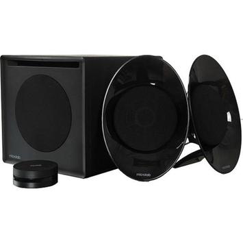 Microlab FC50 2.1 54W Satellite Enclosure-Free Speaker, Black
