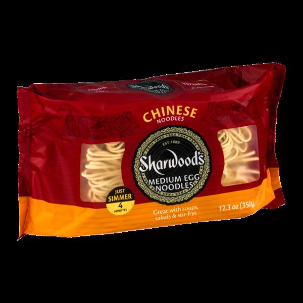 Sharwood's Chinese Medium Egg Noodles
