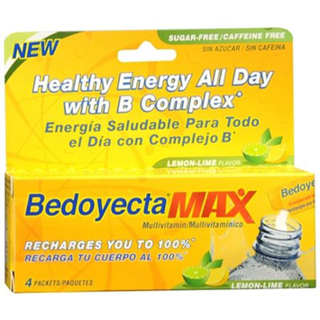 Bedoyecta Max Multivitamin Drink Mix Powder Lemon Lime