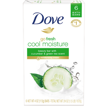 Dove Go Fresh Cool Moisture Beauty Bar cucumber