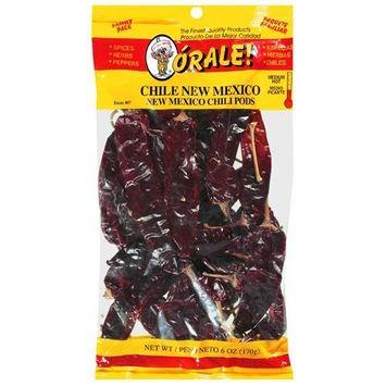Orale Medium Hot New Mexico Family Pack Chili Pods, 6 oz