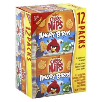 Nabisco Honey Maid Angry Birds Cheese Nips Munchpack