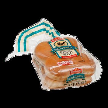 Stroehmann Dutch Country Hamburger Potato Buns - 8 CT