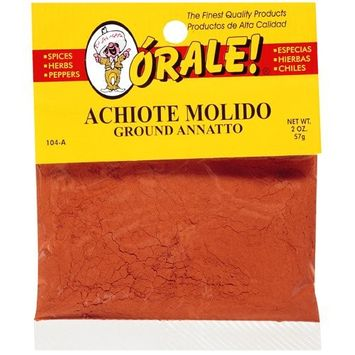 Orale Ground Annatto, 2 oz