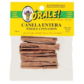 Orale Whole Cinnamon, .75 oz