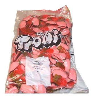 Trolli Gummy Candy Bulk Value Bag Strawberry Creams 4 Pound Value Bag