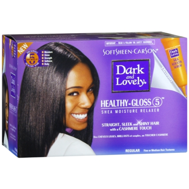 Dark and Lovely No-Lye Conditioning Relaxer System