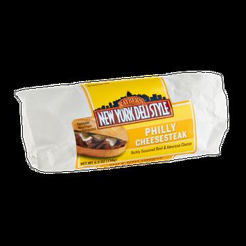 Raybern New York Deli Style Philly Cheesesteak Heat N' Serve Sandwich