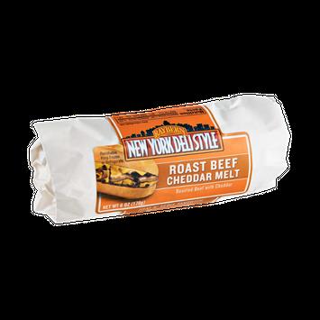 Raybern New York Deli Style Roast Beef Cheddar Melt Heat N' Serve Sandwich