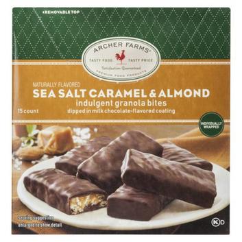Archer Farms Sea Salt Caramel & Almond Indulgent Granola Bites 15-ct.