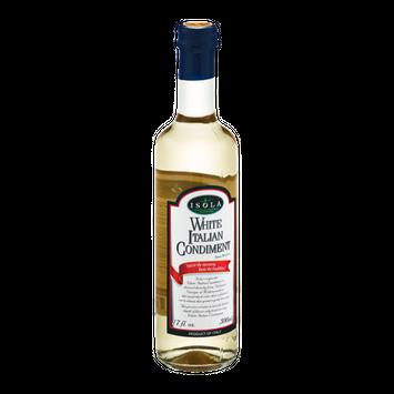 Isola White Italian Condiment