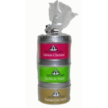 Two Snooty Chefs Gourmet Spice Blends Sampler 3 Pack, 5.0-Ounce Container