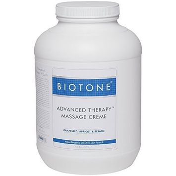 Biotone Advanced Therapy Mass Cream Gal, 128 Ounce