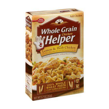 Betty Crocker™ Chicken Helper Whole Grain Lemon & Herb Chicken