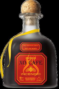 Patrón XO Cafe Incendio