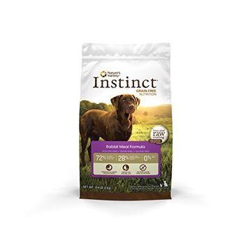 Instinct Original Grain Free Rabbit Meal Formula Natural Dry Dog Food by Nature's Variety, 4.4 lb. Bag