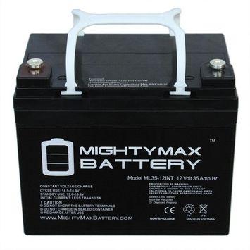 MIGHTY MAX BATTERY 12-Volt 35 Ah Rechargeable Sealed Lead Acid (SLA) Internal Thread Battery