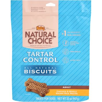 Nutro® Natural Choice® Adult Tartar Control Chicken & Whole Brown Rice Recipe All Natural Dog Biscuits