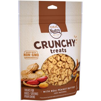 Nutro™ Crunchy Dog Treats With Real Peanut Butter