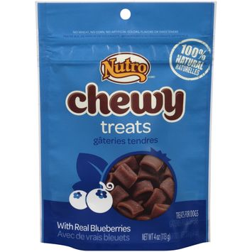 Nutro® Chewy With Real Blueberries Dog Treats
