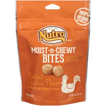 Nutro® Moist-n-chewy Bites Roasted Chicken Flavor Dog Treats