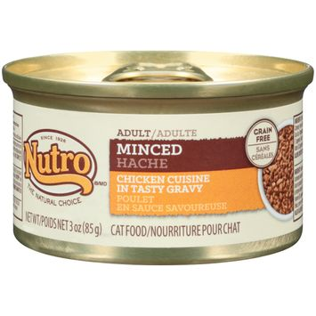 Nutro® Adult Minced Chicken Cuisine In Tasty Gravy Adult Cat Food