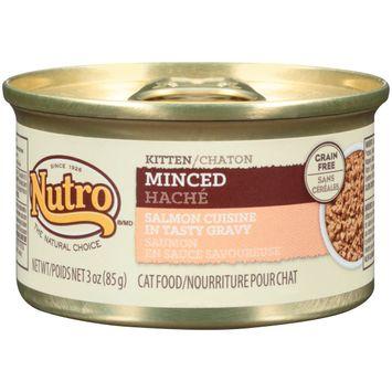 Nutro® Kitten Minced Salmon Cuisine In Tasty Gravy Cat Food
