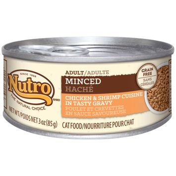 Nutro® Adult Minced Chicken & Shrimp Cuisine In Tasty Gravy Adult Cat Food