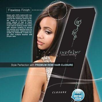 Indi Remi Premium Virgin Hair - Curly Closure - Color 2 Dark Brown