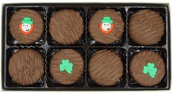 Philadelphia Candies Milk Chocolate Covered OREO Cookies, St. Patrick's Day Gift