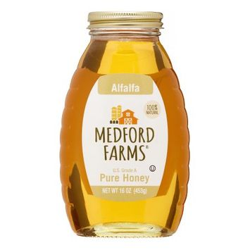 Medfrd Medford Honey, Alfalfa, 16 Oz