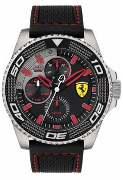 Ferrari 830467 KERS XTREME Men's Watch Black 48mm Stainless Steel Case