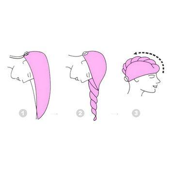 Mily Microfiber Hair Turban,Hair Towel Wrap Turban- Super Absorbent,Unique Design - Perfect for College Dorm, Pools, Gyms, Beaches, Locker Rooms, Bathroom Rainbow