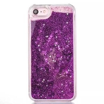 UCLL Iphone7 Moving Liquid Case, Bling Glitter Case for 4.7 inch Iphone 7 with a free Screen Protector