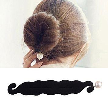 Polytree Magic Hair Sponge Hairstyle Foam Donut Maker Ponytail Bun Twister Tie Tool