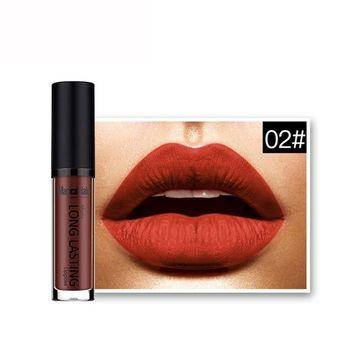 Lipstick Set,Putars Fashion 18 Colors Waterproof Matte Liquid Lipstick Long Lasting Lip Gloss Lipstick