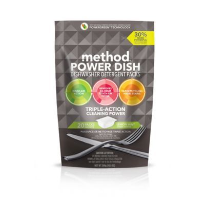Method® Dishwasher Detergent Power Packets Free & Clear