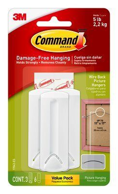 Command™ Wire-Backed Picture Hanging Hooks Value Pack