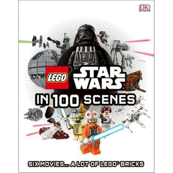 Lego Star Wars in 100 Scenes (Hardcover) by Daniel Lipkowitz